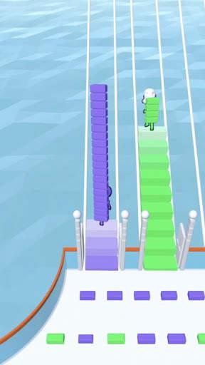 Bridge Race Screen Shot 8
