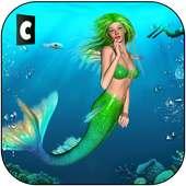 Cute Mermaid vs Sea Animals