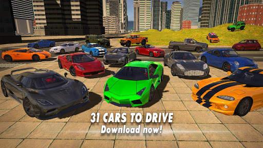 Car Simulator 2020 Screen Shot 1