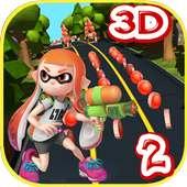 subway splatoon adventure 2 run game