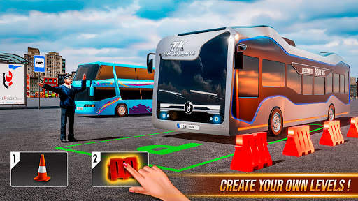 Bus Simulator Games: Bus Games Screen Shot 2