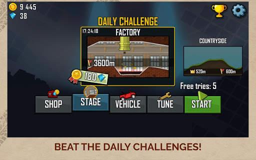 Hill Climb Racing Screen Shot 9