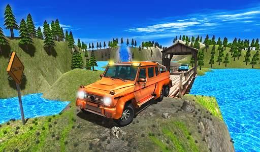 Offroad Racing 3D Screen Shot 2