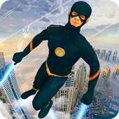 Flying Super Speed Hero: Top Speed Hero Game