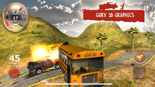 Zombie Derby Screen Shot 9