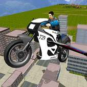 Flying Police Bike Simulator