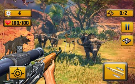 Wild Animal Shooting Screen Shot 3