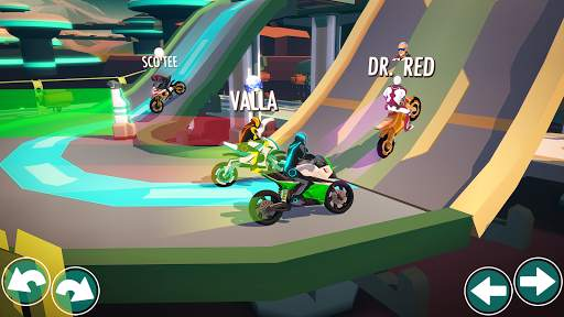 Gravity Rider: Extreme Balance Space Bike Racing Screen Shot 7
