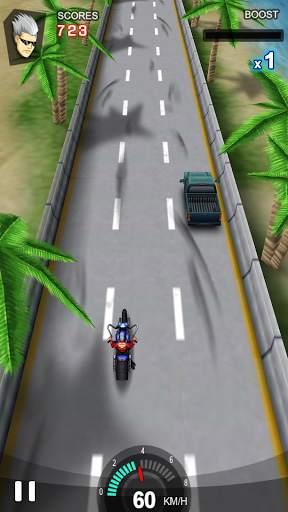 Racing Moto Screen Shot 0