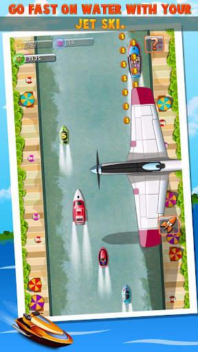 Crazy Boat Racing Screen Shot 0