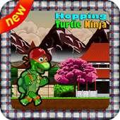 Hopping Turtle Ninja