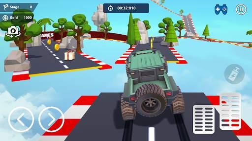 Car Stunts 3D - Extreme City GT Racing Screen Shot 2