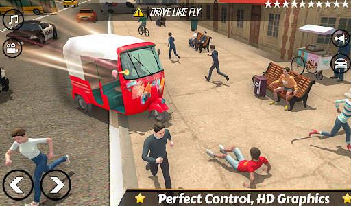 Mountain Auto Tuk Tuk Rickshaw : New Games 2021 Screen Shot 1
