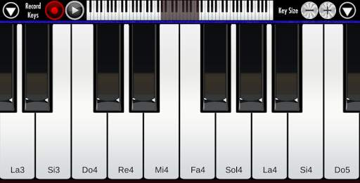 Real Piano Screen Shot 3