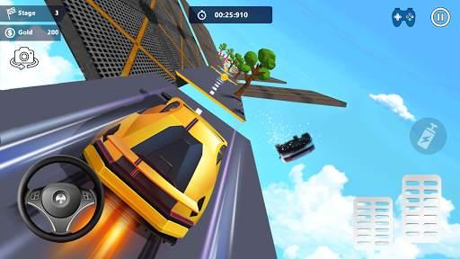 Car Stunts 3D - Extreme City GT Racing Screen Shot 1